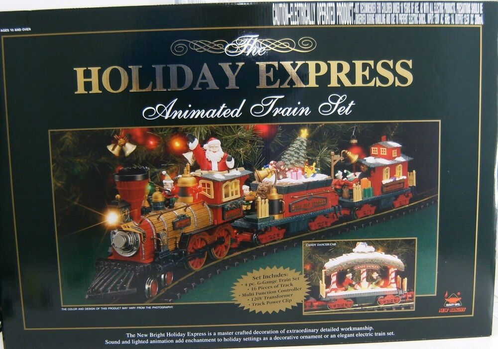 New Bright 384 Holiday Express Christmas Electric Animated