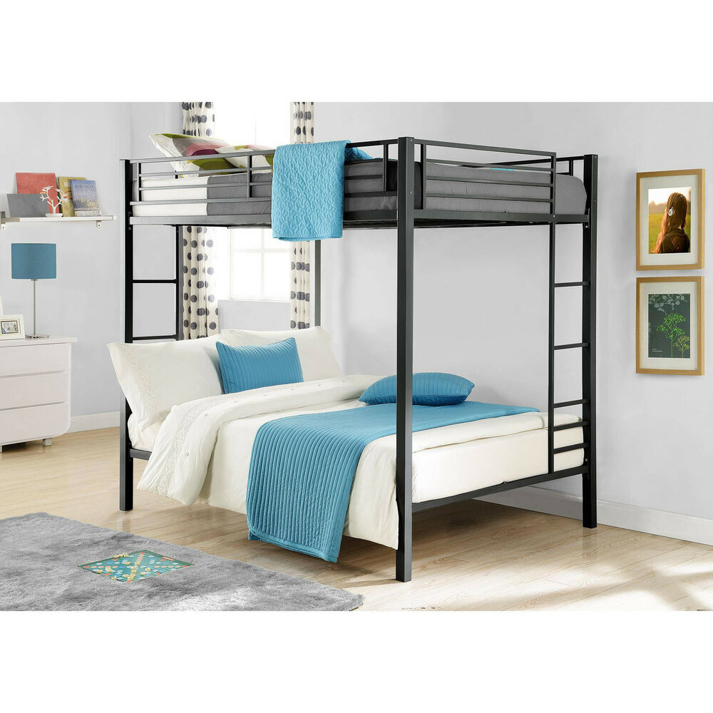 Bunk Beds On Sale Kids Full Size Over Double Bedroom Loft Furniture Space Saver 660960288704  eBay