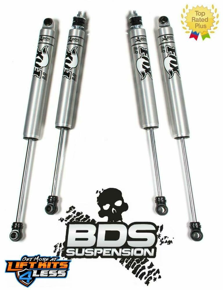 2005-2016 Ford F-250 F-350 BDS FOX Shocks 2.0 Front Rear