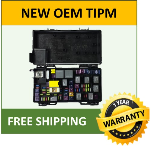 small resolution of 2011 jeep grand cherokee tipm fuse box fuse relay box genuine oem 04692315aj ebay 2003 durango