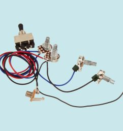 details about guitar wiring harness kit 2v2t 3 way toggle switch for gibson lespaul input jack [ 1000 x 1000 Pixel ]