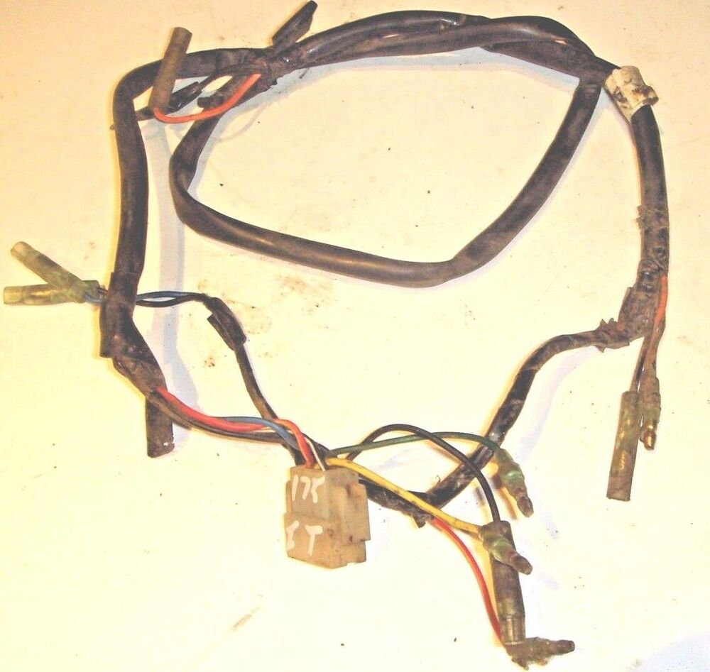 hight resolution of details about yamaha it 175 1979 wire harness assembly it175