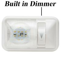 RV Interior Led Ceiling Light Boat Camper Trailer Single