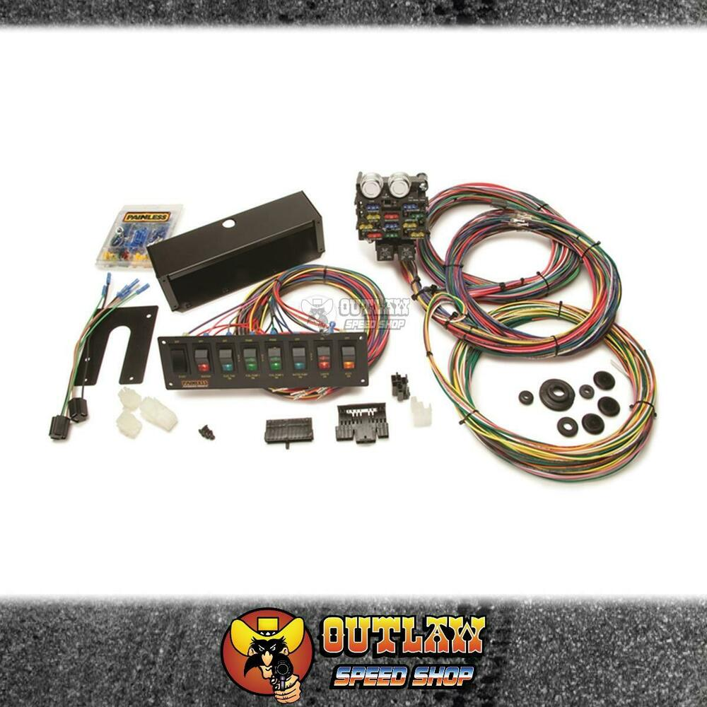 hight resolution of details about painless wiring 12 circuit drag race harness switch panel kit drag pw50003