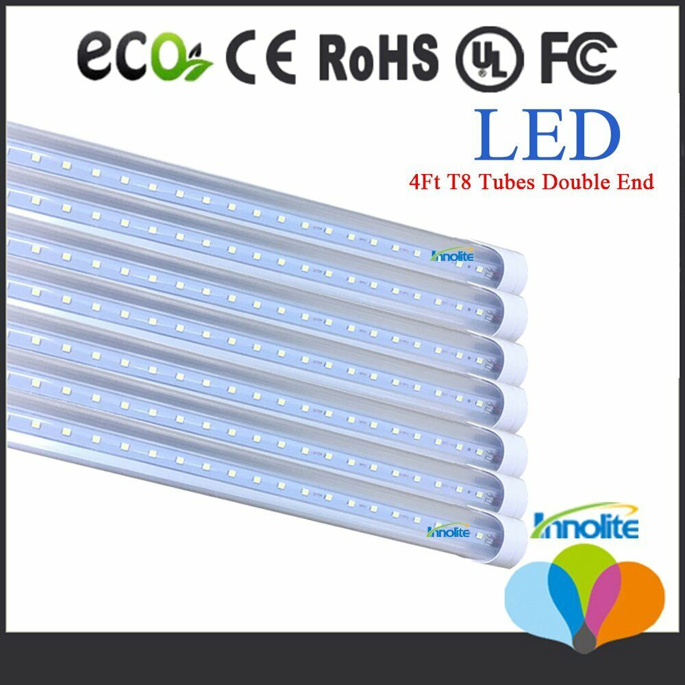 10100 Pack 18W 4 Foot LED T8 Replacement Tubes 4ft