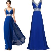Women Formal Long Ball Dress Prom Evening Party Cocktail ...