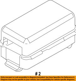 details about ford oem 09 10 e 350 super duty 6 0l v8 fuse holder 9c2z14a068a [ 966 x 1000 Pixel ]