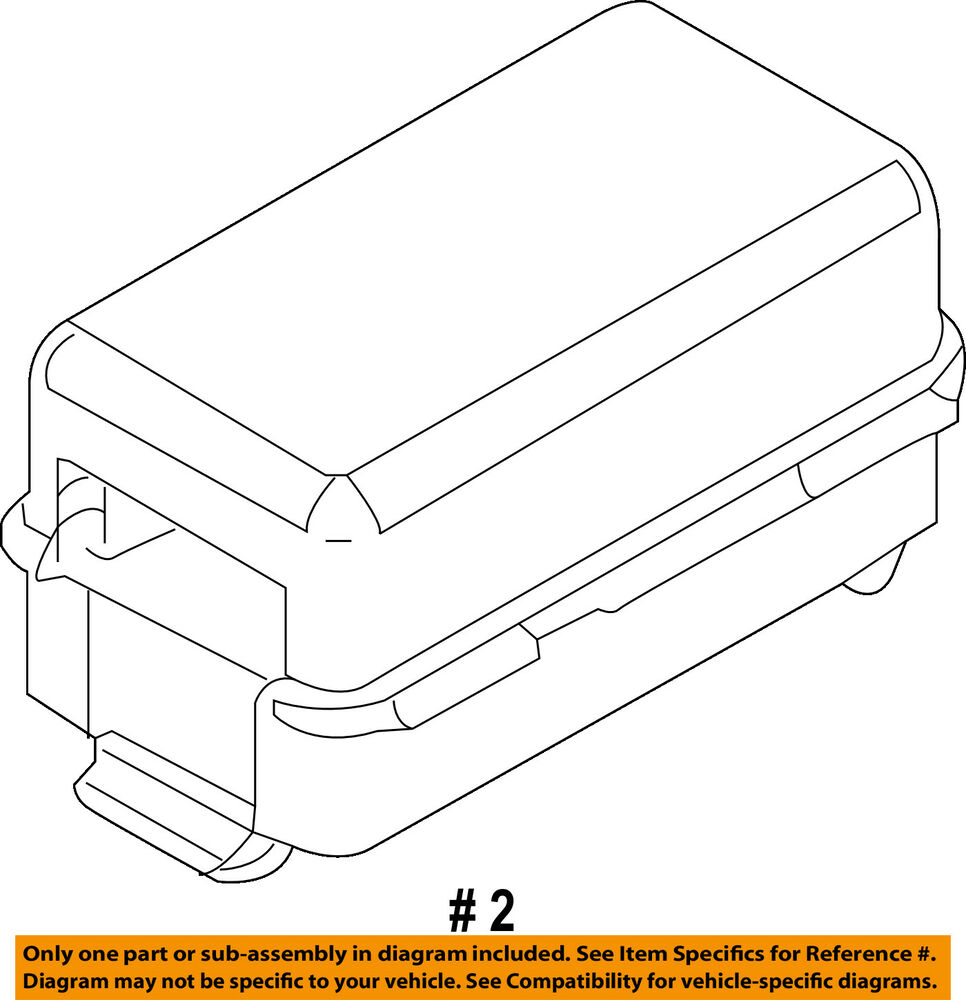 hight resolution of details about ford oem 09 10 e 350 super duty 6 0l v8 fuse holder 9c2z14a068a