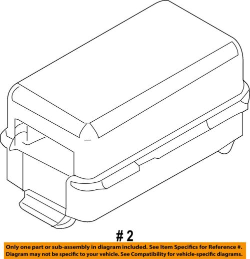 small resolution of details about ford oem 09 10 e 350 super duty 6 0l v8 fuse holder 9c2z14a068a