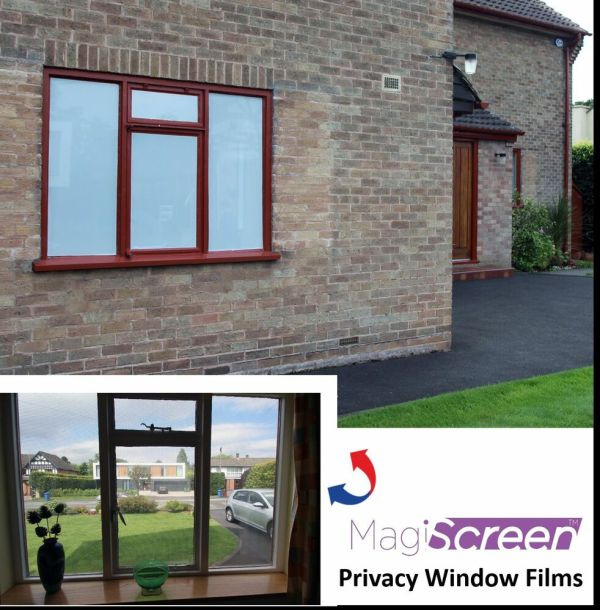 Vision Window Film Daytime Privacy White Perforated