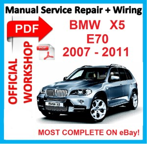 #FACTORY WORKSHOP MANUAL service repair FOR BMW X5 E70