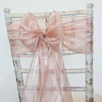 SILK ORGANZA CHAIR SASHES HOODS AND TABLE RUNNERS 2 ...
