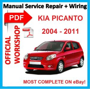 # OFFICIAL WORKSHOP MANUAL service repair FOR KIA PICANTO