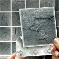 18 Slate Stick On Wall Tile Stickers Transfers For ...