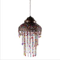 Tiffany Style Stained Glass Shade Hanging Pendant Lamp ...