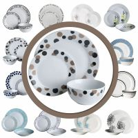 12pc Dinner Set - Porcelain Dining Tableware Set (Various ...
