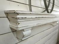 French Country Mantle Shelf, Large Mantle shelf, Arch ...