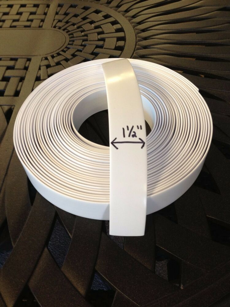 15 Vinyl Strapping For Patio Furniture 20 Roll White  eBay