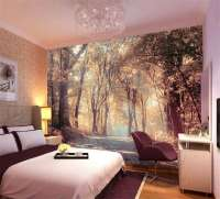 Colorful Autumn Scenery Full Wall Mural Photo Wallpaper