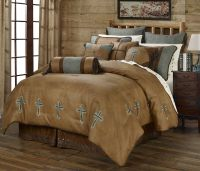 Turquoise Cross - Western - 5 Piece Comforter Bedding Set ...