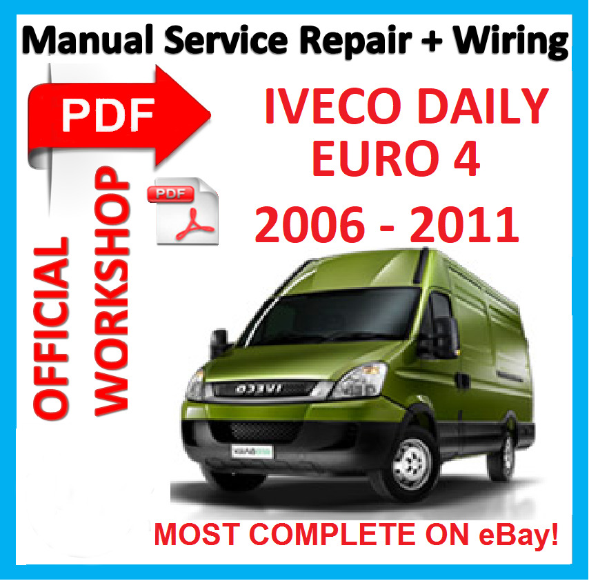 iveco daily 2007 wiring diagram drayton zone valve official workshop manual service repair for euro 4 2006 details about 2011