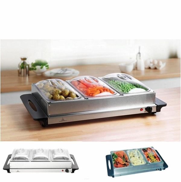 Buffet Server Warming Tray Food Warmer Trays Hot Plate
