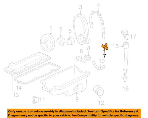 small resolution of details about gm oem engine crankshaft crank position sensor cps 10456614