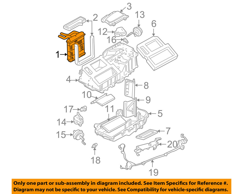 hight resolution of details about gm oem hvac heater core 52473178