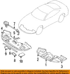 details about mitsubishi oem 1999 3000gt spoiler front bumper air deflector right mr396922 [ 925 x 1000 Pixel ]