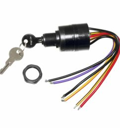 details about mercury ignition key switch 6 wire replaces 17009a2 17009a5 outboard mp41070 2 [ 1000 x 1000 Pixel ]