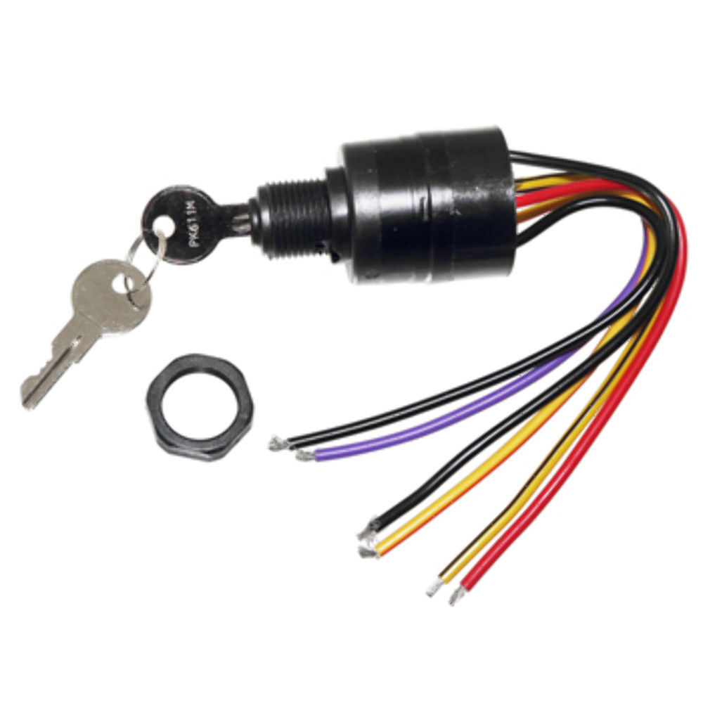medium resolution of details about mercury ignition key switch 6 wire replaces 17009a2 17009a5 outboard mp41070 2