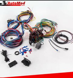details about 21 circuit wiring harness for chevy mopar ford hotrod universal extra long wires [ 1000 x 1000 Pixel ]