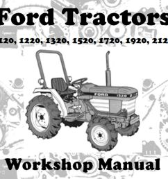 ford 1220 tractor wiring diagram [ 1000 x 928 Pixel ]