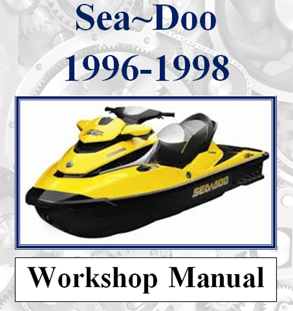 medium resolution of sea doo sea doo jet ski 1996 1998 workshop manual digital download ebay