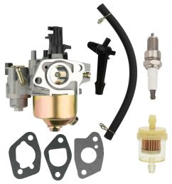 details about carburetor for harbor freight predator 212cc 60363 69730 engine with fuel filter [ 1000 x 1000 Pixel ]