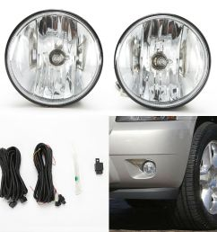 details about fog lights set for 2007 2013 chevy tahoe avalanche suburban w wire bulbs switch [ 1000 x 1000 Pixel ]