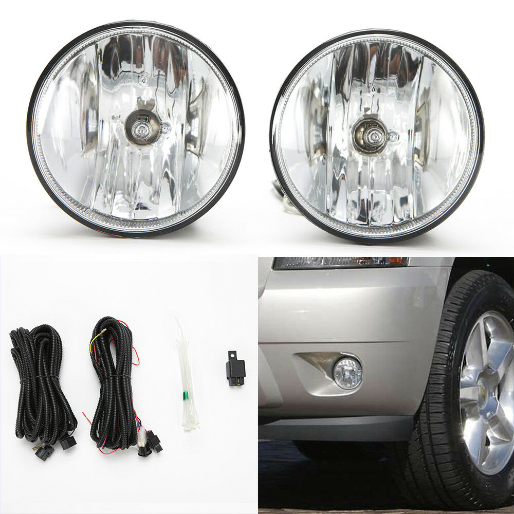 hight resolution of details about fog lights set for 2007 2013 chevy tahoe avalanche suburban w wire bulbs switch