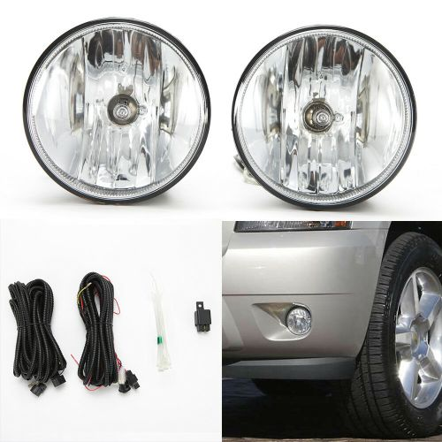 small resolution of details about fog lights set for 2007 2013 chevy tahoe avalanche suburban w wire bulbs switch