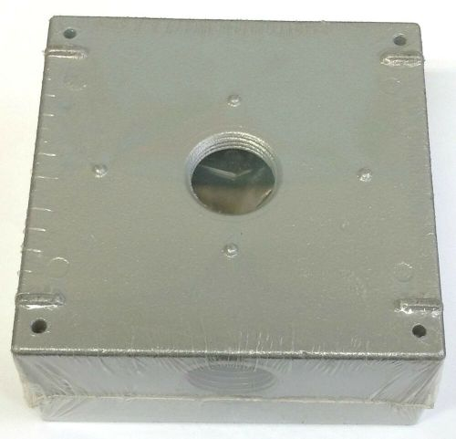 small resolution of ace three holes 3 4 all weather weatherproof electrical wiring junction box 82901017820 ebay