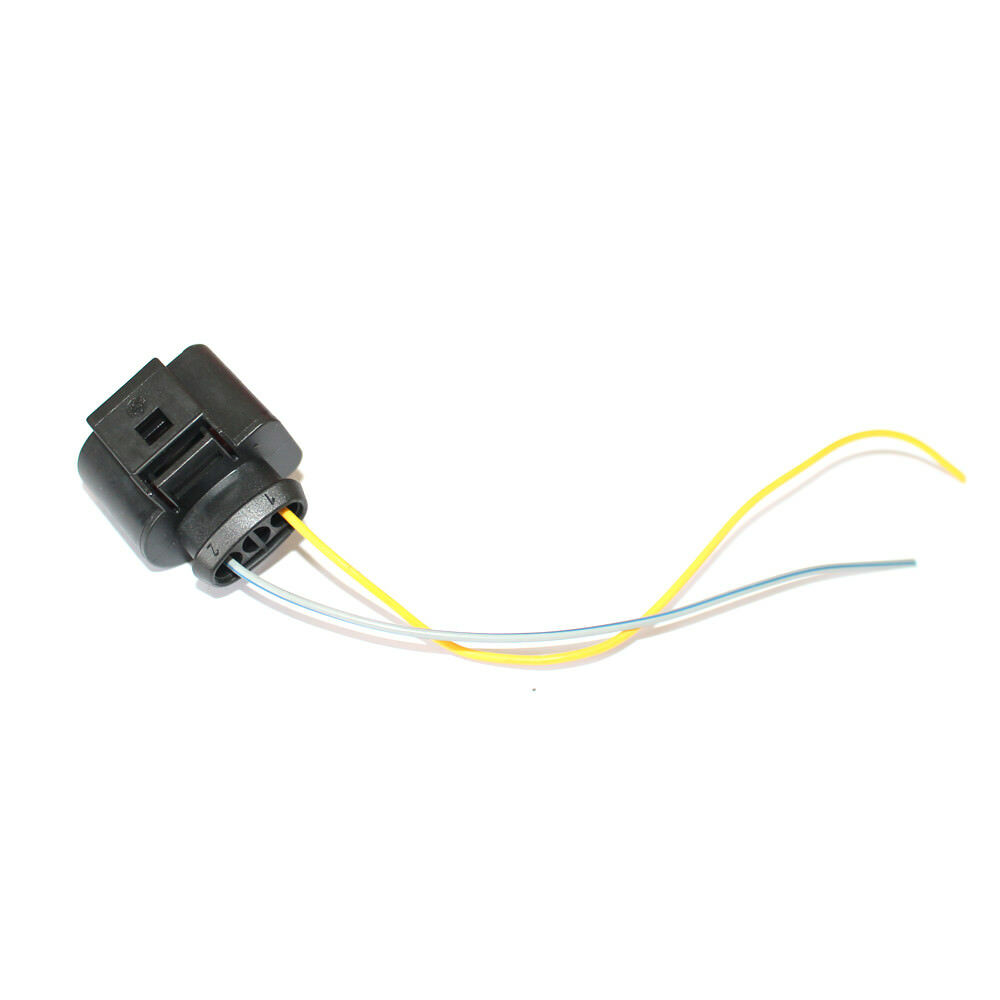hight resolution of details about 3pin pigtail plug wiring harness connector 8k0973703 fit for audi vw skoda black