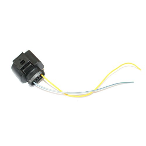 small resolution of details about 3pin pigtail plug wiring harness connector 8k0973703 fit for audi vw skoda black