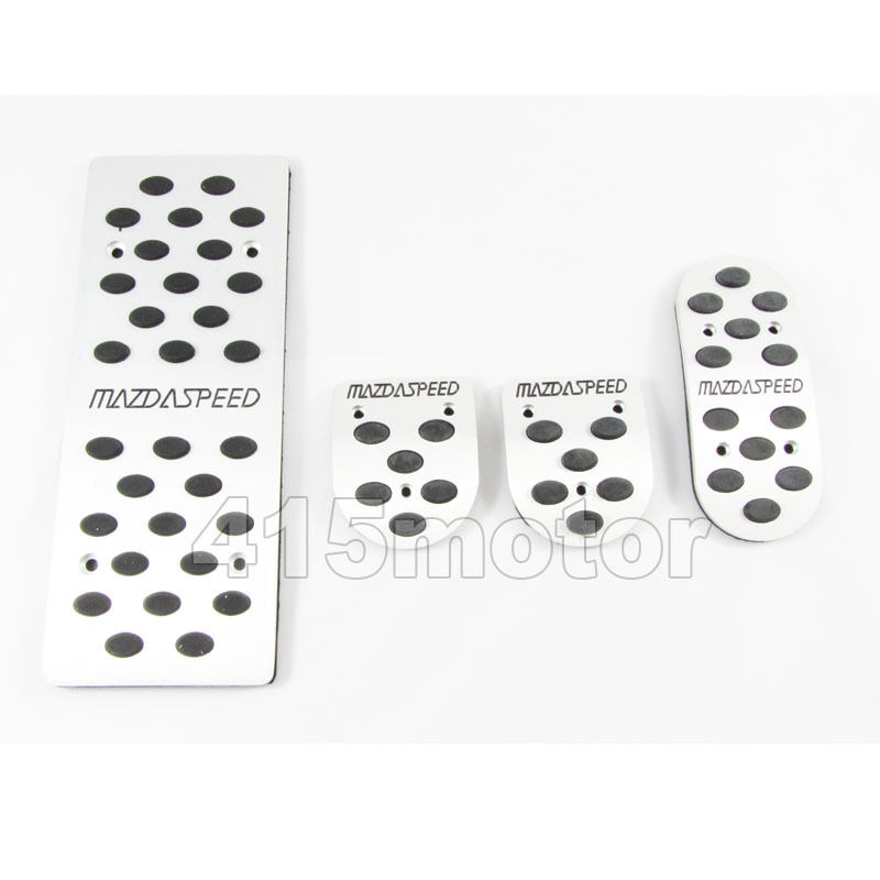 Mazdaspeed MT Foot Rest Pedal Set for Mazda 2 3 6 MX-3 MX