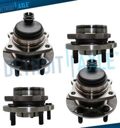 details about front rear wheel bearing hub for chrysler town country fwd 2004 2005 2006 2007 [ 1000 x 1000 Pixel ]