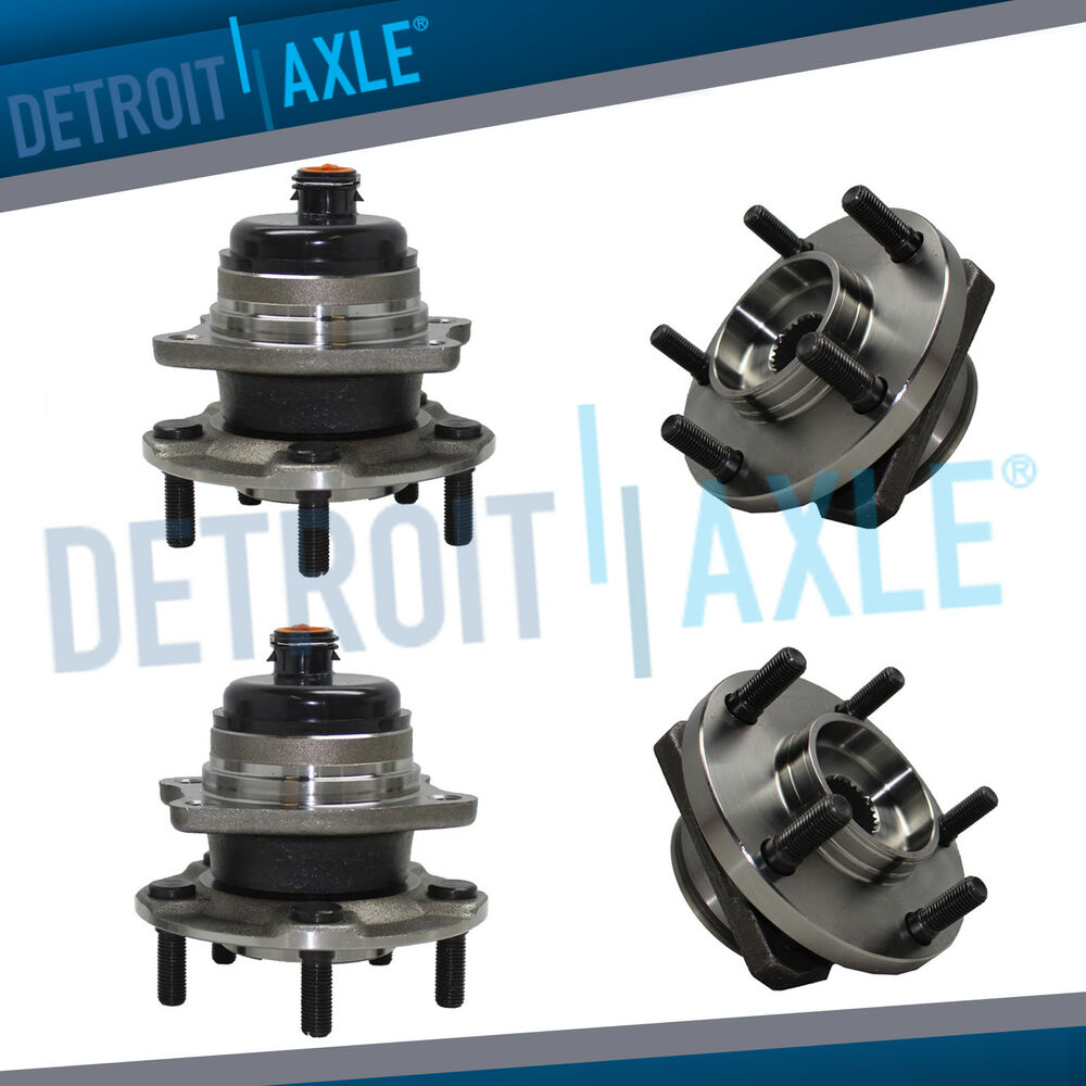 hight resolution of details about front rear wheel bearing hub for chrysler town country fwd 2004 2005 2006 2007