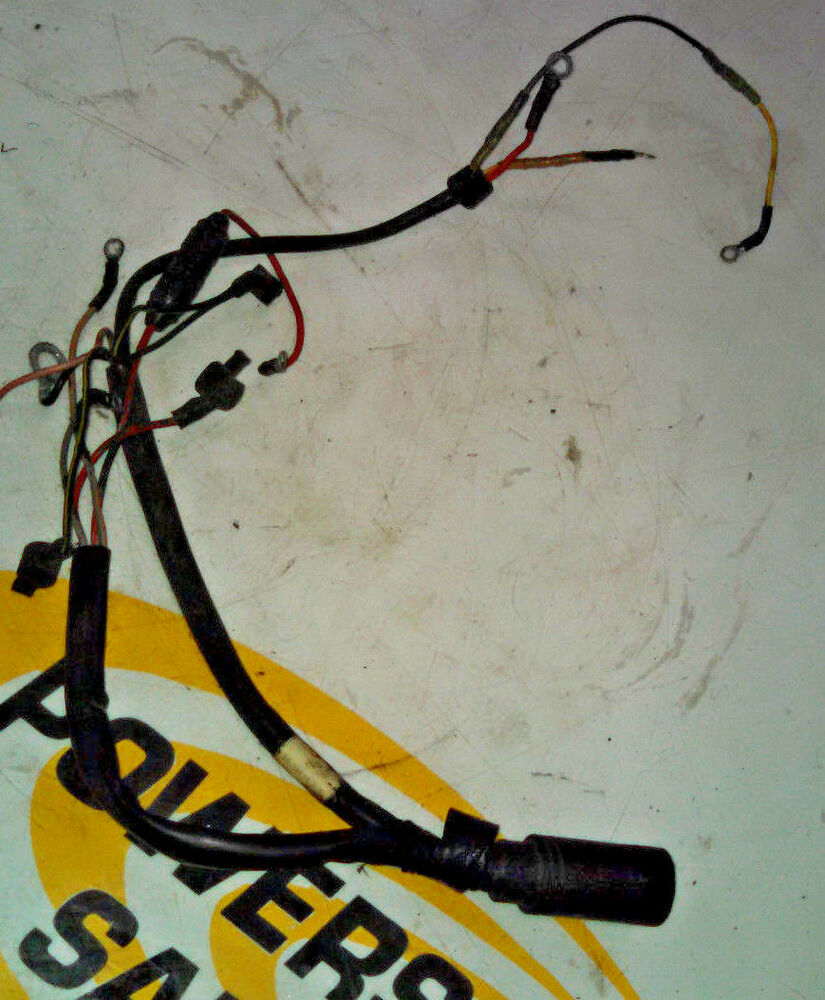 hight resolution of details about 89 90 91 92 mercury mariner 50 60 40 hp 3 cyl wiring harness main wire loom