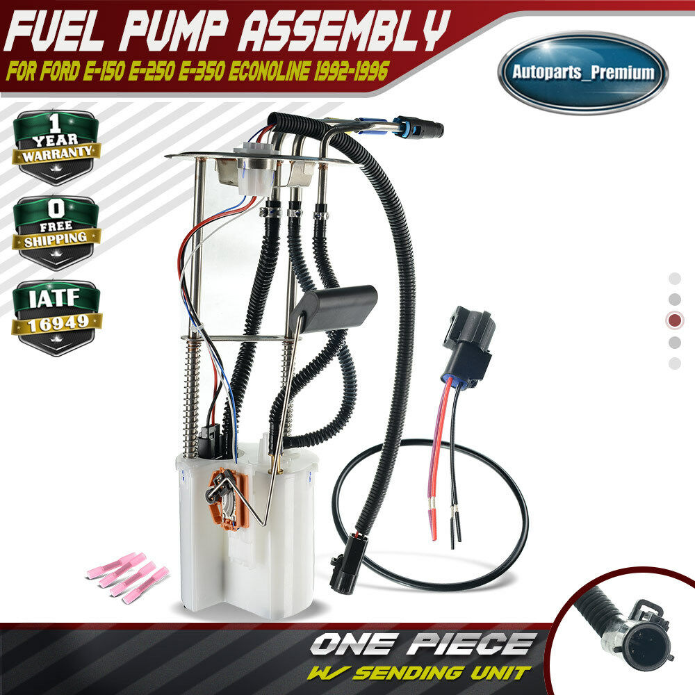 hight resolution of details about fuel pump module assembly for ford e 150 e 250 e 350 econoline 1992 1996 e2220m