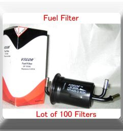details about lot of 100 f55356 fuel filter fits kia sephia 999 2001 spectra 2000 2004 l4 1 8l [ 1000 x 921 Pixel ]