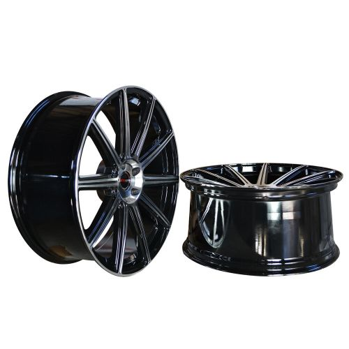 small resolution of details about 4 gwg wheels 20 inch staggered black mod rims fits lexus gs 300 2000 2005