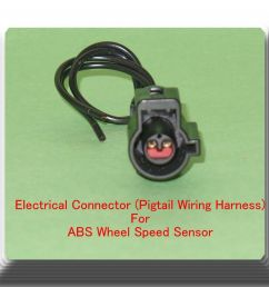 female electrical connector pigtail wiring harness of abs wheel speed sensor 601871712513 ebay [ 1000 x 916 Pixel ]