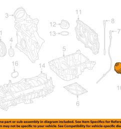 details about mercedes oem 16 17 glc300 2 0l l4 engine oil filter housing 0169971745 [ 1000 x 798 Pixel ]
